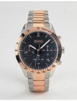 Boss – 1513584 Talent – Chronograph Armbanduhr Aus Verschiedenen Metallen by Asos
