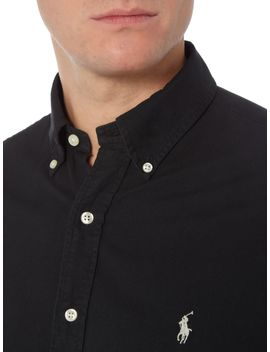 Slim Fit Garment Dyed Shirt by Polo Ralph Lauren