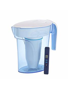 Zero Water 7 Cup Zp 007 Rp 1.7 Litre Blue Water Filter Jug | Fridge Door Design With 5 Stage Filtration System, Water Filter Cartridge Included by Zero Water