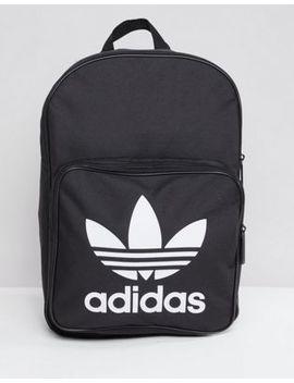Adidas Originals – Schwarzer Rucksack Mit Großem Trefoil Logo, Dj2170 by Asos