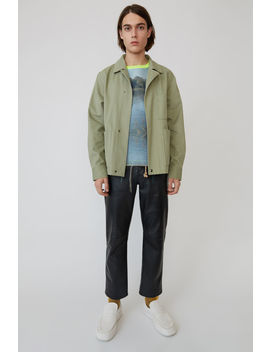 Cotton Jacket Stone Grey by Acne Studios