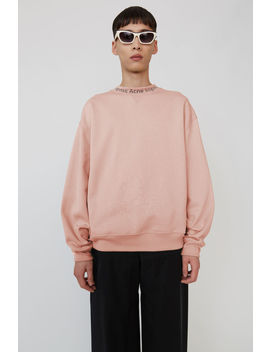 Iconic Sweatshirt Pale Pink by Acne Studios