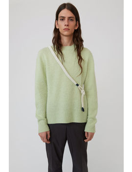 Crewneck Sweater Pale Green by Acne Studios