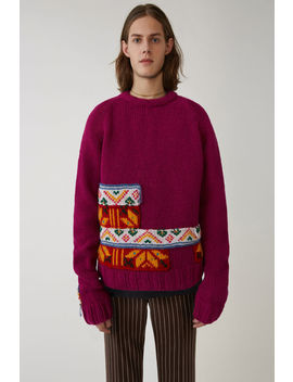 Limited Edition Knit Berry Purple by Acne Studios