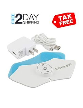 Accupoint Pain Relief Pad Reusable Tens Electrode Pad Nerve Therapy Stimulator by Re Me Dies