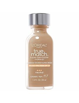 L'oreal True Match Liquid Makeup   Classic Tan by L'oreal Paris