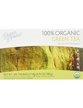 Prince Of Peace Organic Green Tea 100 Tea Bags by Prince Of Peace