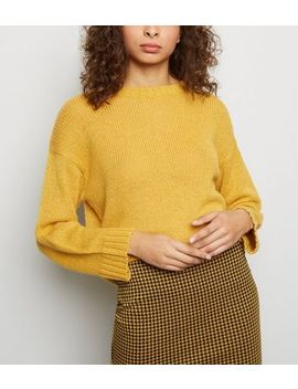 Mustard Knitted Jumper by New Look