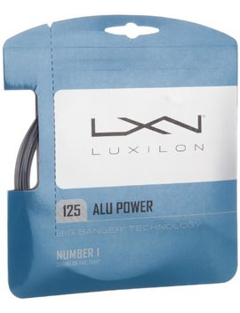 Luxilion Alu Power 125 Tennis Racquet String Set (16 L Gauge, 1.25 Mm) by Wilson