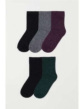 Balení: 5 Párů Ponožek by H&M