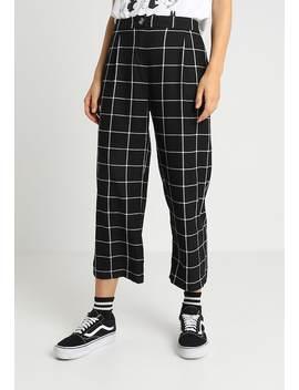 Windowpane Trouser   Pantaloni by New Look