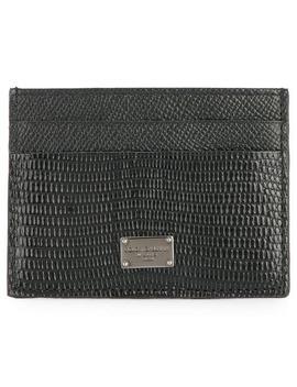 Logo Cardholder Wallet by Dolce & Gabbana