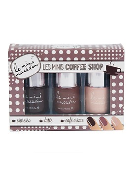 Le Mini Macaron Les Minis Coffee Shop Gel Polish Trio by Le Mini Macaron