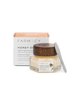 Farmacy Honey Drop Lightweight Moisturizing Cream   Natural Hydrating Face Moisturizer by Farmacy