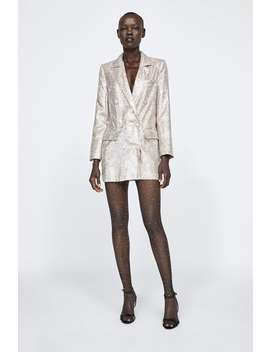 Sequined Blazer  Sequinsdress Time Woman Corner Shops by Zara