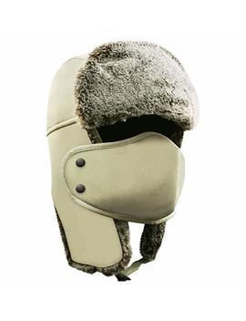 Akaso Winter Hat With Ear Flaps, Trooper Trapper Hat, Ushanka Hunting Hat Men & Women by Amazon
