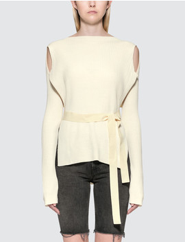Cable Knit Top by Mm6 Maison Margiela