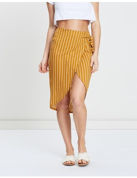 Iconic Exclusive   Kel Beach Wrap Midi Skirt by Atmos&Here