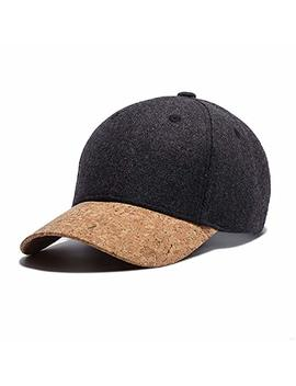 Slbgadieme Baseball Hat Sport Cap Men Woolen Fabric For Autumn Winter Slp Uvx398 by Amazon