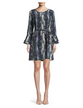 Kirsten Paisley Print Shift Dress by Kobi Halperin