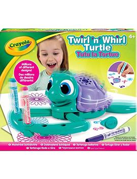 Crayola Twirl N Whirl Turtle Spiral Arts And Crafts Toy by Crayola