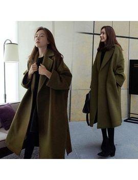 Apotheose   Split Side Oversized Coat by Apotheosis