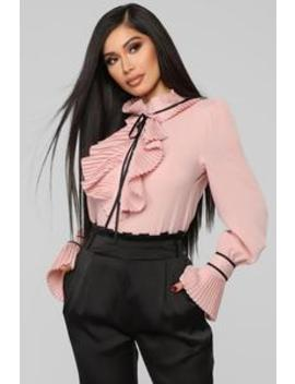 Need No Drama Blouse   Mauve by Fashion Nova