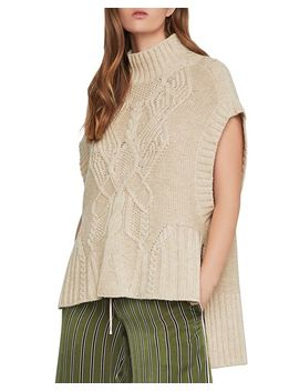 High/Low Cable Knit Sweater by Bcbgmaxazria