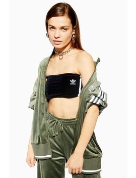 Velour Three Stripe Skirt By Adidas by Topshop