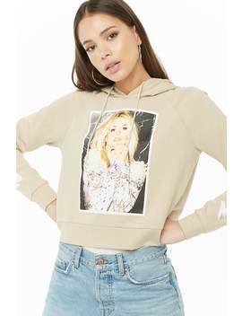 Hooded Britney Spears Graphic Sweatshirt by Forever 21