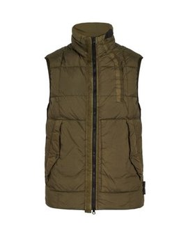 Down Filled Nylon Gilet by Stone Island