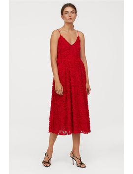 Robe Avec Applications by H&M