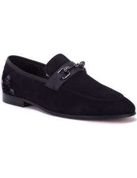 Costas Skull Bit Loafer by Robert Graham