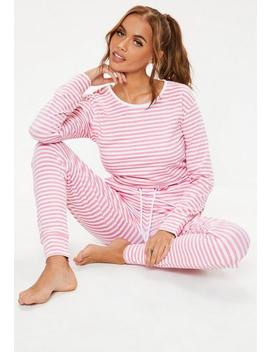 Pink Colourblock Casual Loungewear Jumpsuit by Missguided