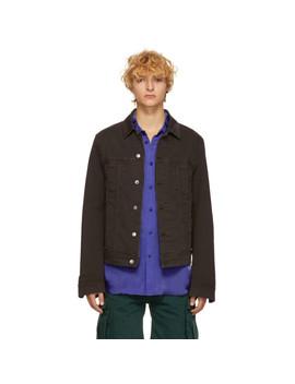 Green Blå Konst Denim Pass Jacket by Acne Studios