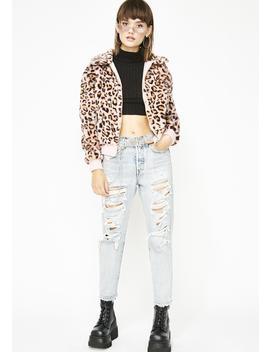 Boujee Babe Leopard Jacket by Clara Story