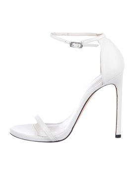 Leather Ankle Strap Sandals by Stuart Weitzman