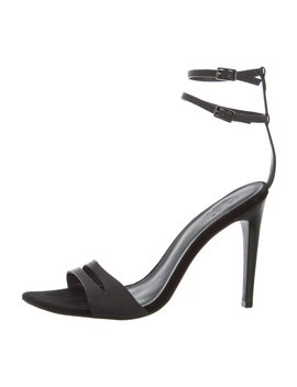Rubber Ankle Strap Sandals by Tibi