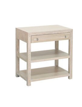 Worlds Away End Table With Storage by Worlds Away