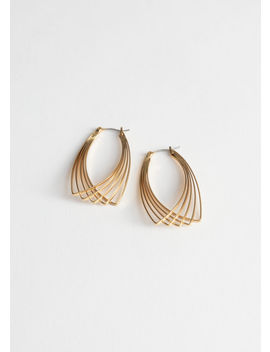 Overlapping Wire Earrings by & Other Stories