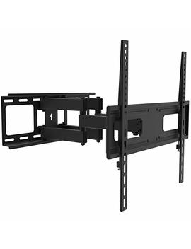 """Tv Wall Mount Bracket For 26 55 Inch Led, Lcd Curved / Flat Panel T Vs Up To Vesa 400 X400 And 88 Lbs   Full Adjustable Articulating Tv Arm Fits 12"""" 16"""" Wall Wood Studs By Prime Cables (Heavy Duty, Sturdy, Slim, Universal Design) by Amazon"""