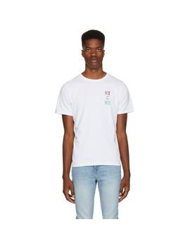 White 'nyc Ny' T Shirt by Saturdays Nyc