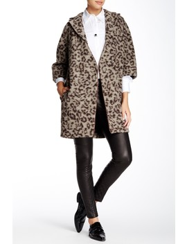 Leopard Print Coat by Thakoon Addition