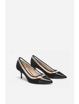Vinyl Mid  Heel Shoes View All Shoes Woman by Zara