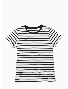 Tiny Taxi Stripe Tee by Kate Spade