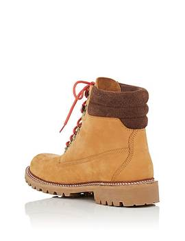 Bny Sole Series: Nubuck Lace Up Boots by Timberland