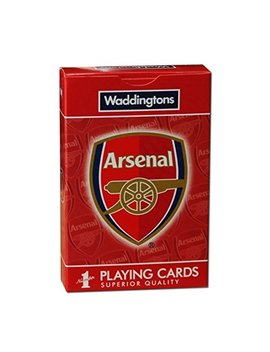Arsenal Fc Waddingtons Number 1 Playing Cards by Waddingtons Number 1