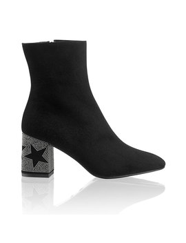 Star Stud Heel Boot by Cosmos
