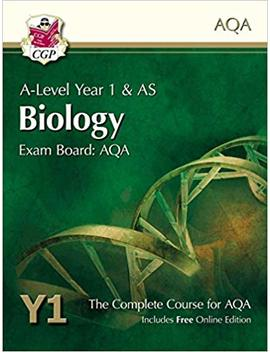 A Level Biology For Aqa: Year 1 & As Student Book With Online Edition (Cgp A Level Biology) by Cgp Books