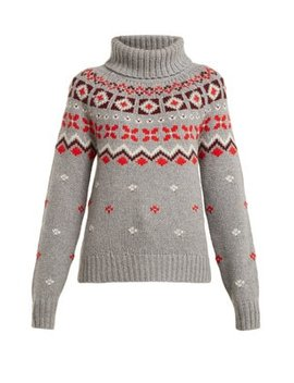 Sinta Roll Neck Cashmere Sweater by Bogner